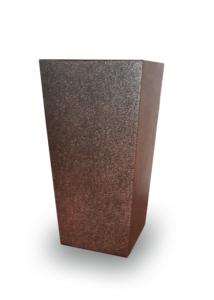 FINEZJA kaspó 400x400 - pöttyös arany