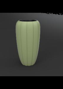 GAJA virágtartó magas O 400 x 780 cm, olajbogyó zöld