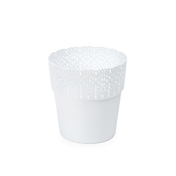BELLA virágtartó Ф 145 mm fehér