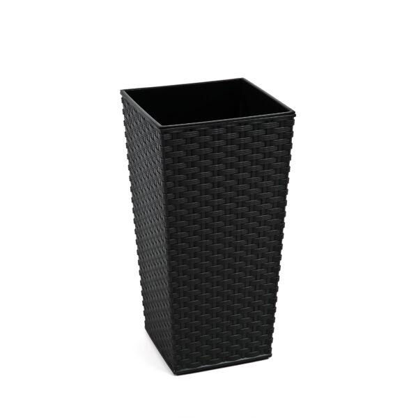 FINEZJA 250x250 rattan - fekete