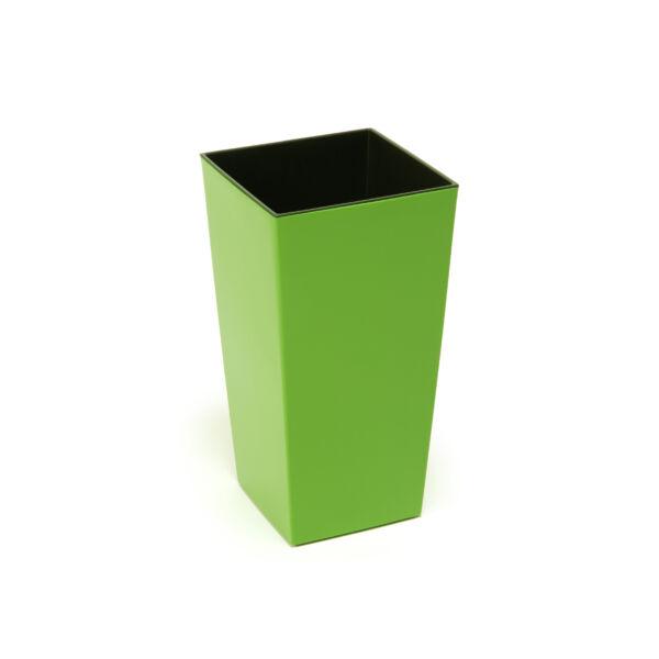 FINEZJA kaspó 140x140 - világos zöld