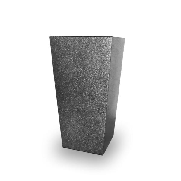 FINEZJA kaspó 400x400 - pöttyös ezüst