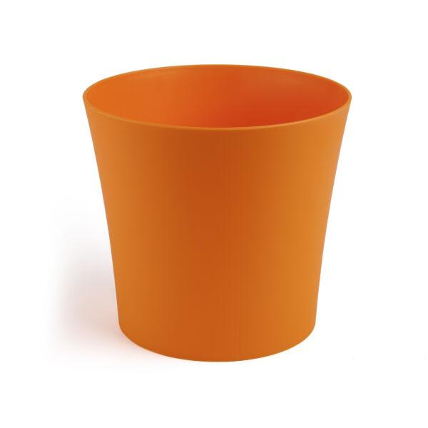 FIOŁEK virágkaspó 145 mm - narancs MEGSZŰNŐ