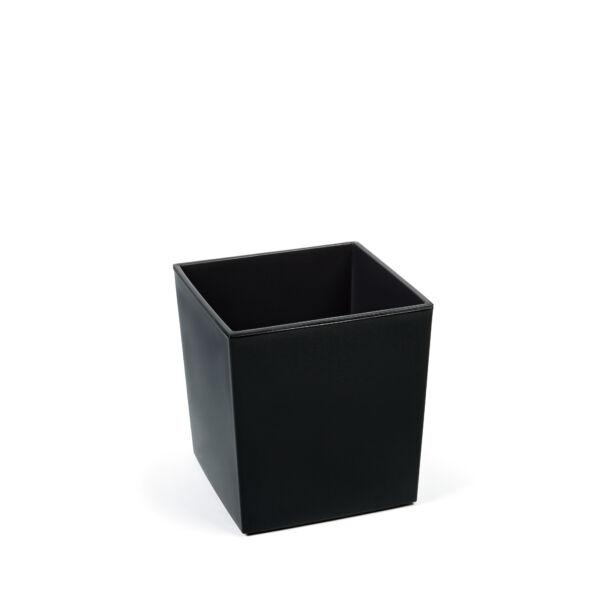 JUKA kaspó 250x250 mm -  fekete