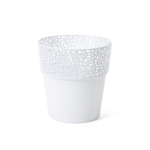 ROSA virágtartó Ф 130 mm fehér
